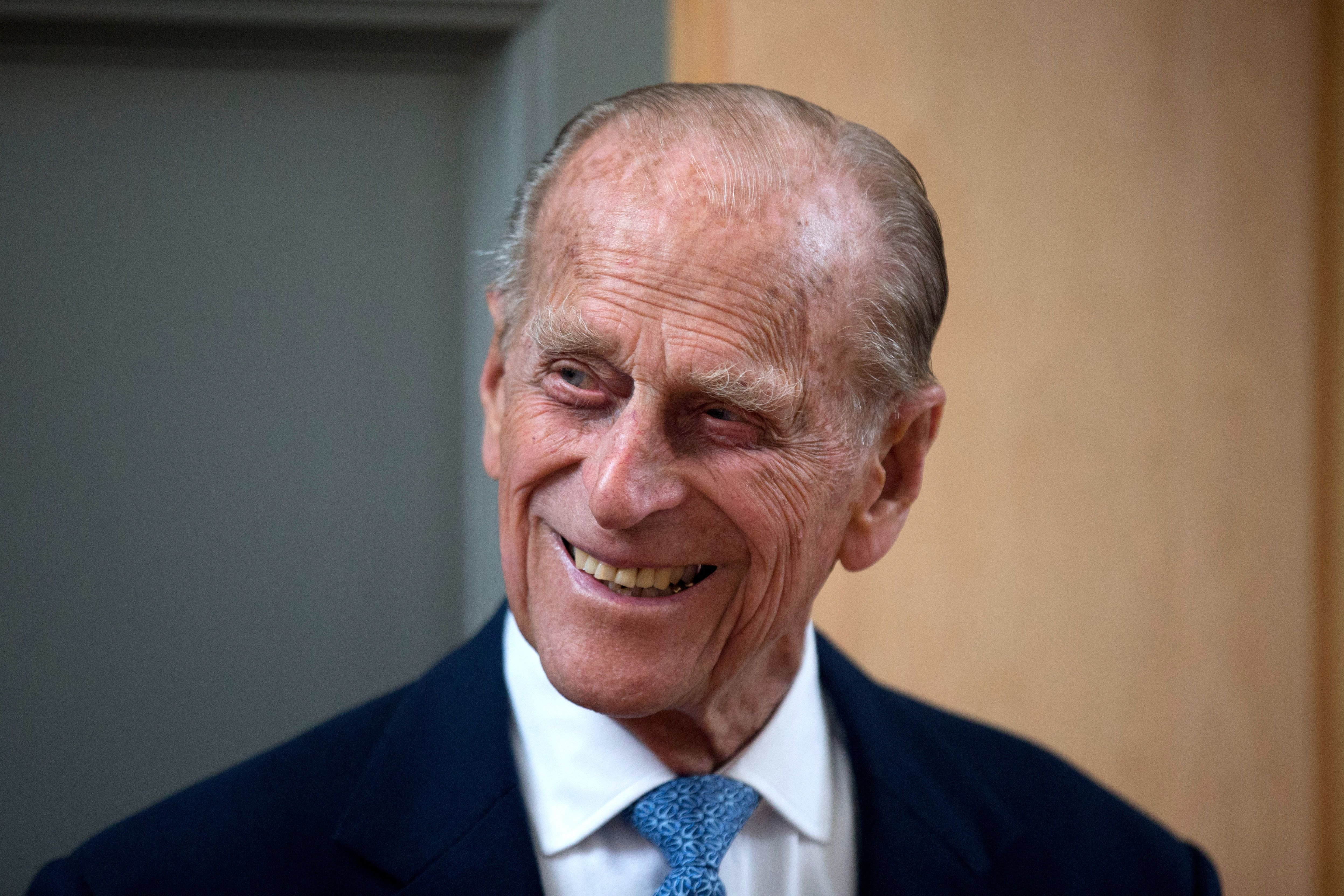 Prince Philip during his visit to Richmond Adult Community College in Richmond on June 8, 2015 in London, England. | Source: Getty Images