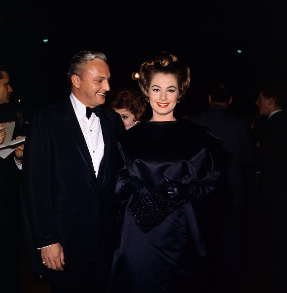 Shirley Jones and Jack Cassidy attending the Academy Awards, 1962. | Photo: Getty Images