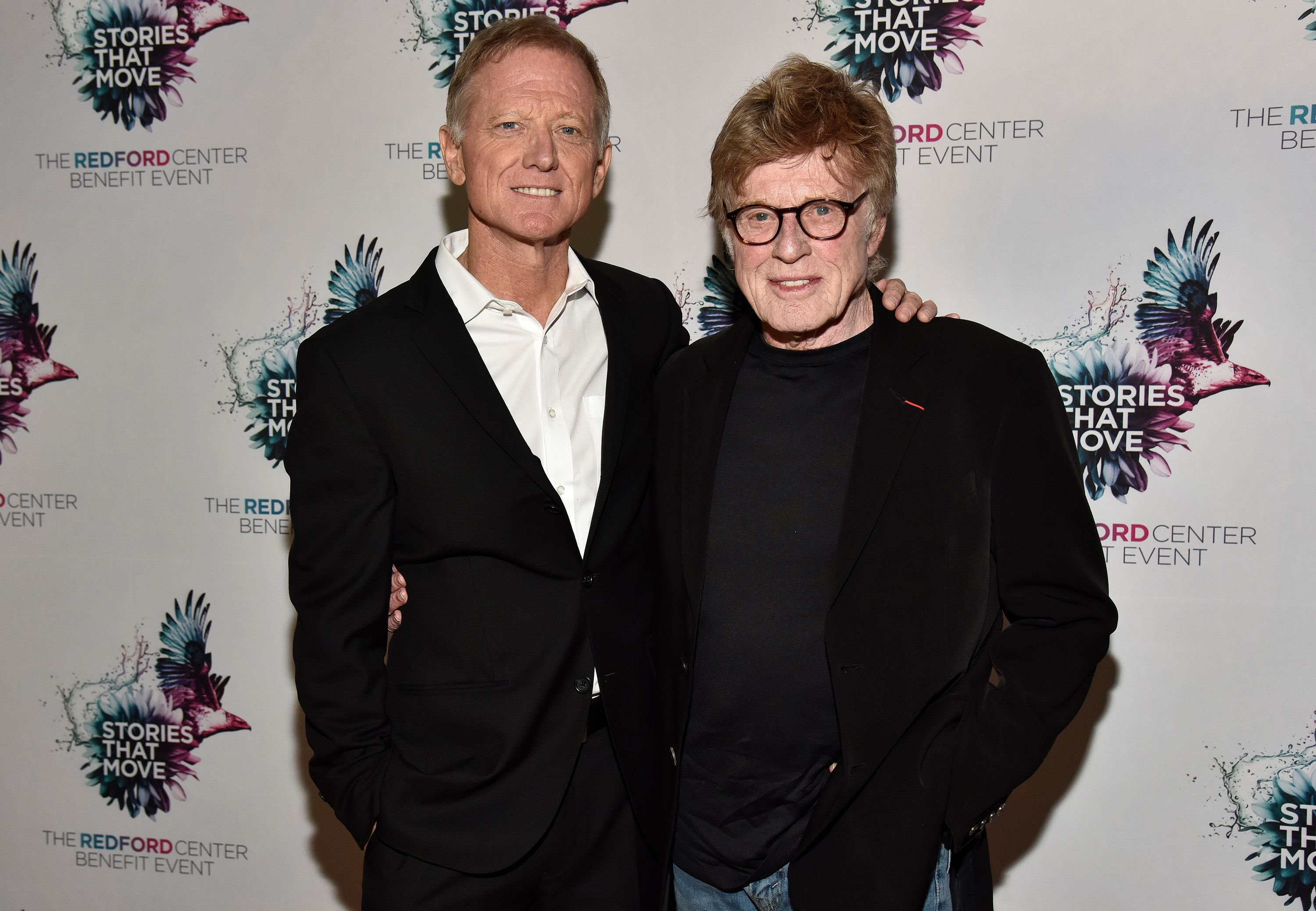 James Redford and Robert Redford at The Redford Center's Benefit at August Hall on December 6, 2018   Photo: Getty Images