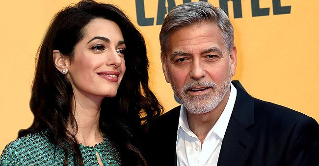 How George Clooney Reportedly Spent Lockdown with Amal and Their Twins