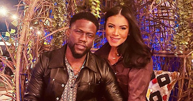 Kevin Hart's Wife Stuns in Unedited Photo of Herself Posing in Abs-Baring Gray Outfit