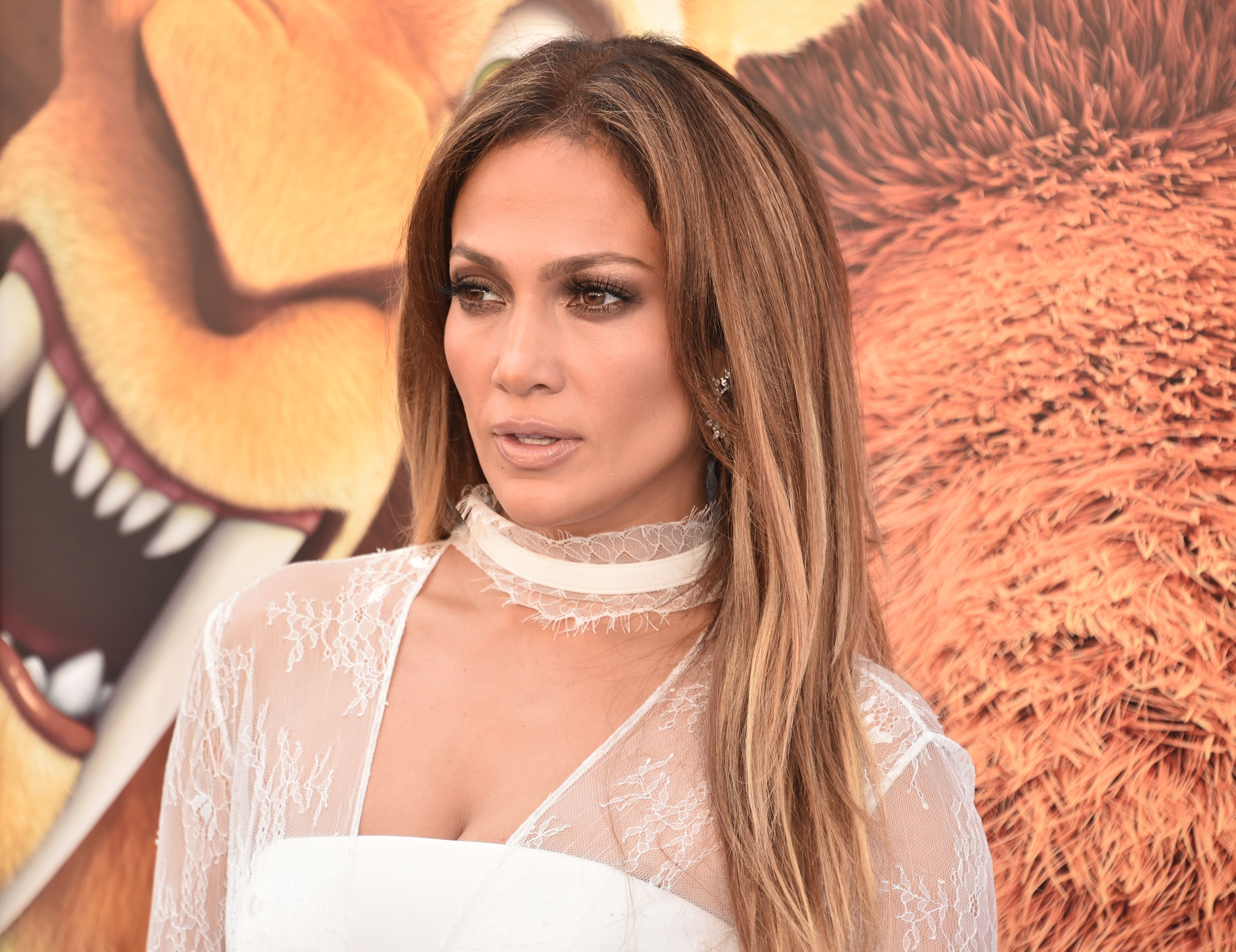 """Actress/singer Jennifer Lopez at the screening of """"Ice Age: Collision Course"""" at Zanuck Theater at 20th Century Fox Lot on July 16, 2016   Photo: Getty Images"""