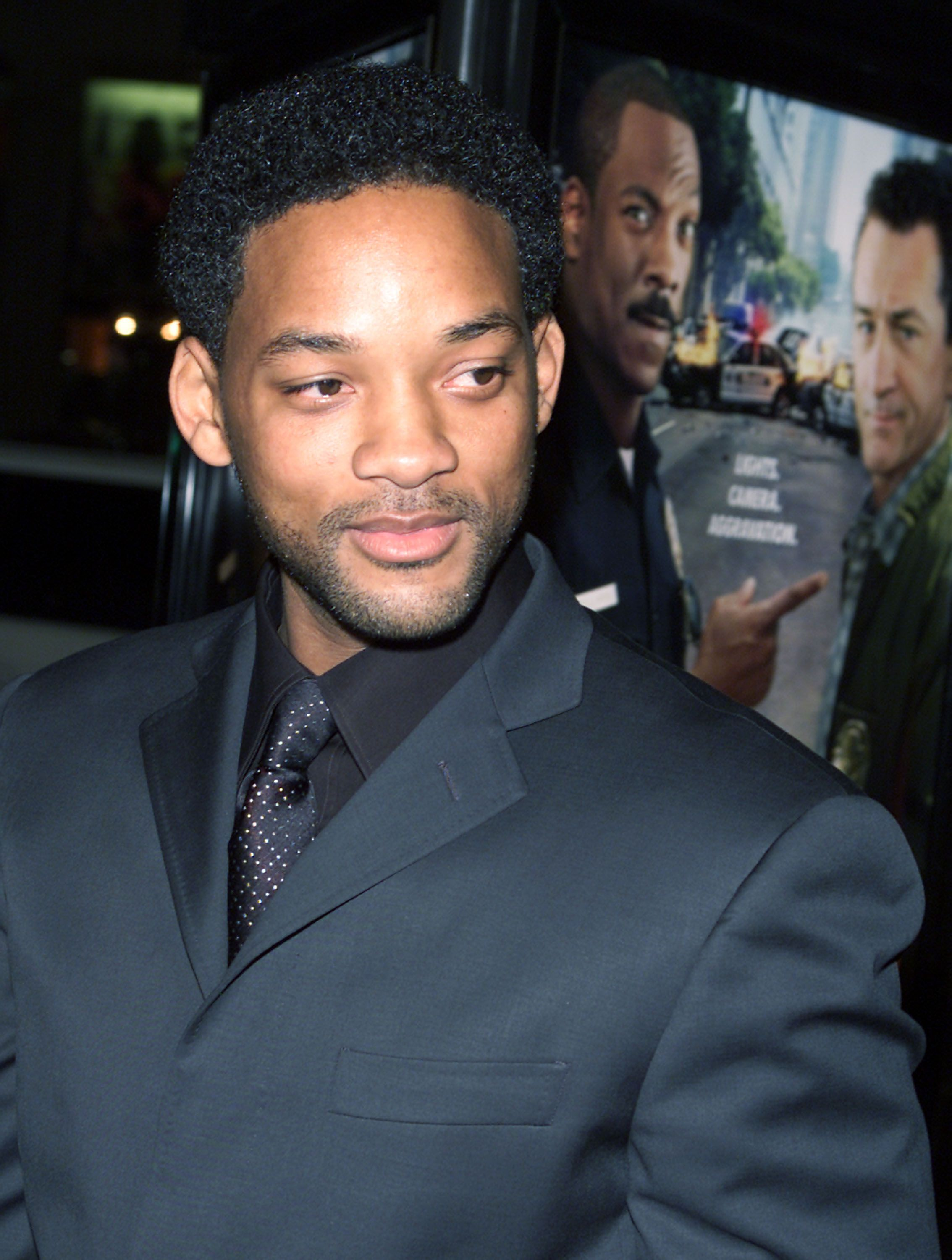 Will Smith attending a premiere in Los Angeles on Monday, March 11, 2002.   Photo: Getty Images