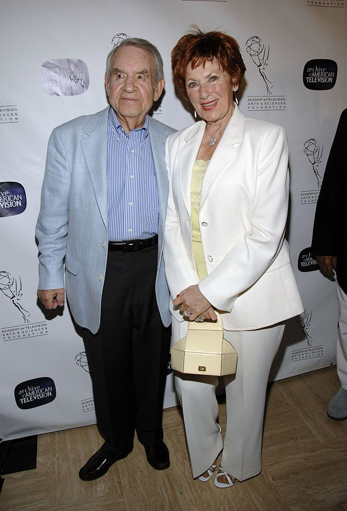Tom Bosley and Marion Ross at the 10th Anniversary Celebration of The Archive Of American Television on June 4, 2007   Source: Getty Images