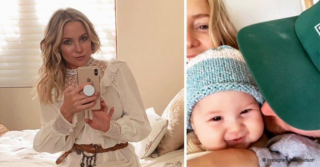 Kate Hudson Says It's 'Love All Around' as She Shares Adorable Family Pic with Daughter