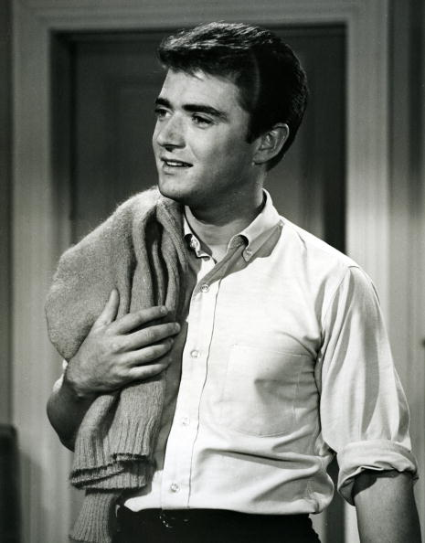 """Tim Considine on the set of """"MY THREE SONS"""" on JULY 17 