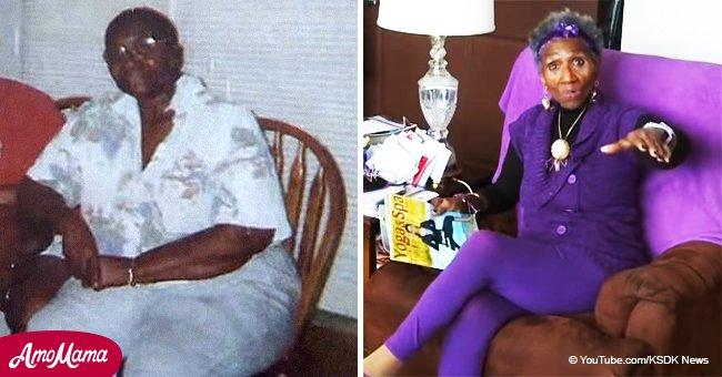 Une grand-mère perd 55 kilos et a l'air méconnaissable en marchant dans un appartement d'une chambre