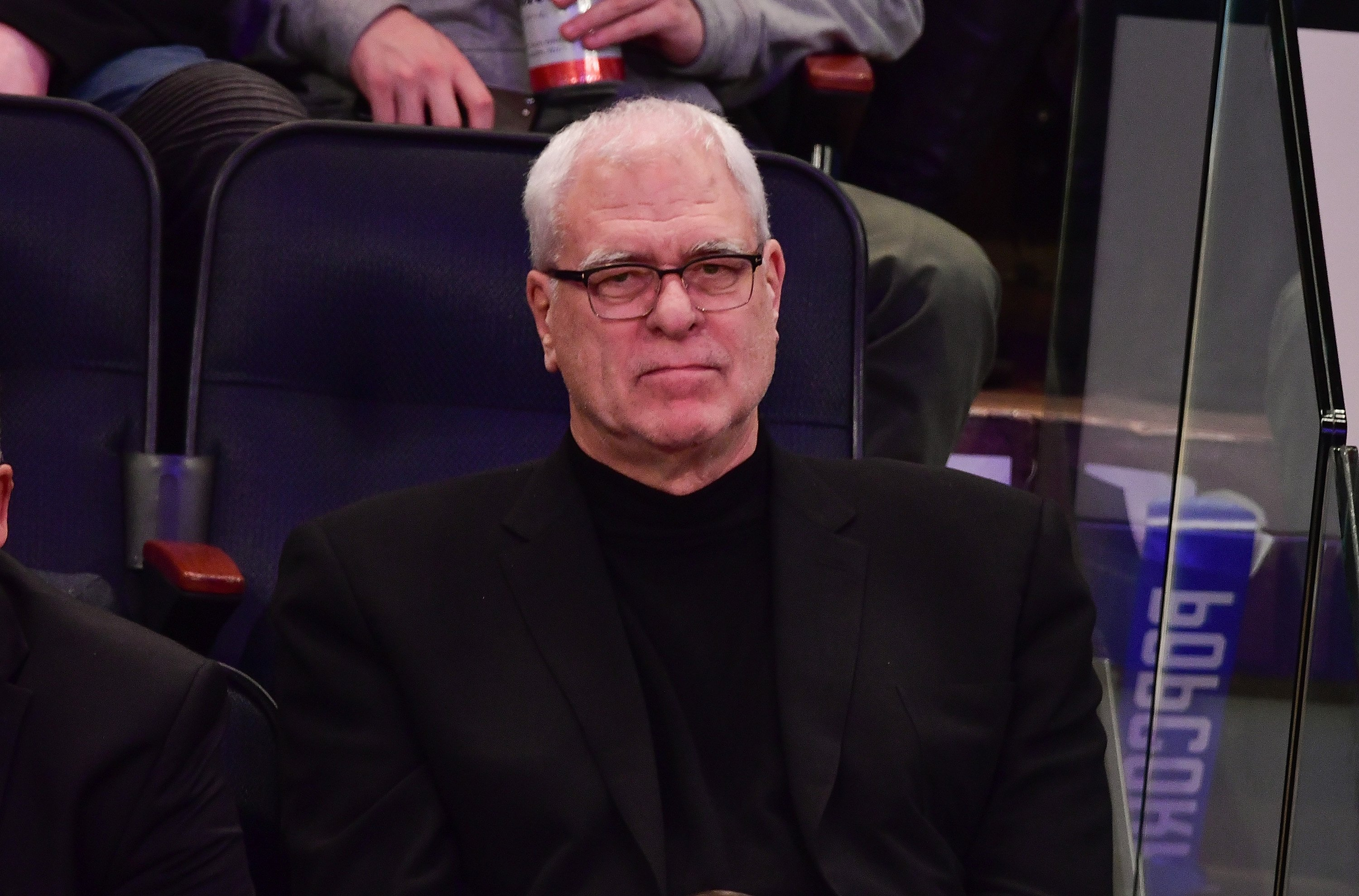 Phil Jackson attends Sacramento Kings vs New York Knicks game at Madison Square Garden on December 4, 2016 | Photo: Getty Images