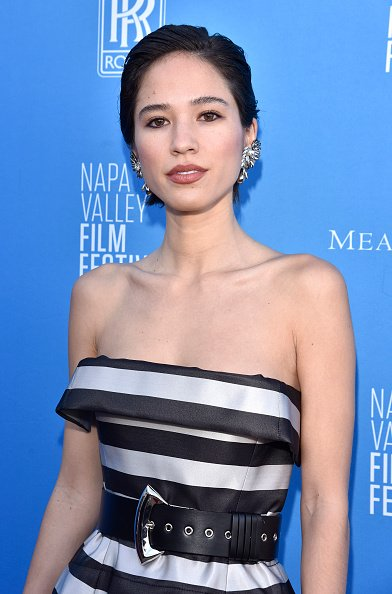 Kelsey Asbille at Materra Cunat Family Vineyards on November 16, 2019 in Napa, California. | Photo: Getty Images