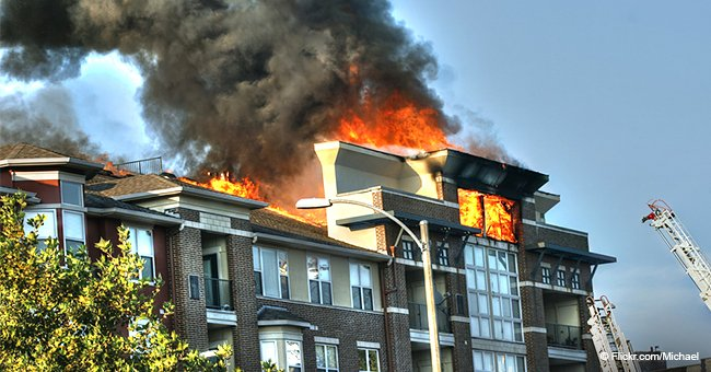 On lui a dit de sauter : des jeunes ont secouru un résident coincé dans un incendie dans son appartement