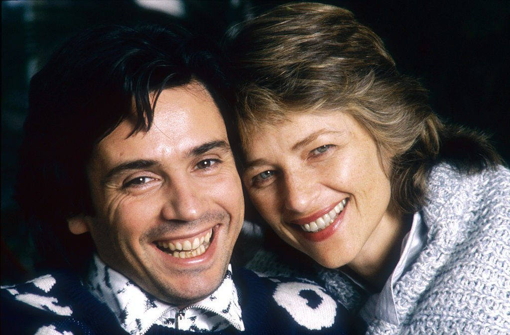 Jean-Michel Jarre et Charlotte Rampling le 9 novembre 1986. l Source : Getty Images