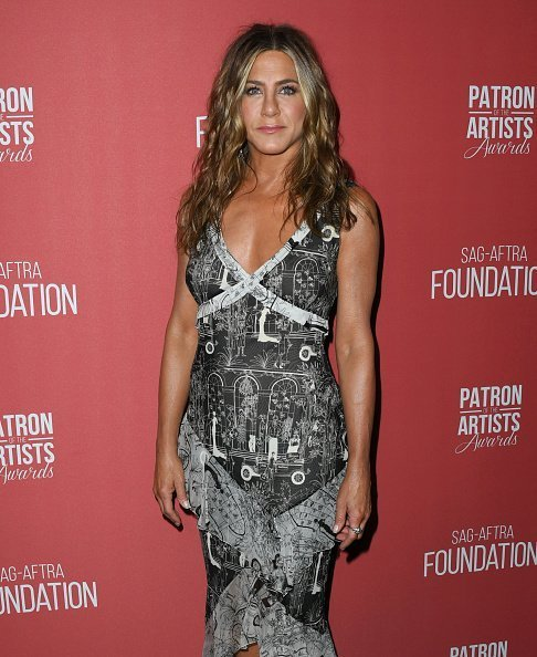 Jennifer Aniston attends SAG-AFTRA Foundation's 4th Annual Patron Of The Artists Award on November 07, 2019 | Photo: Getty Images