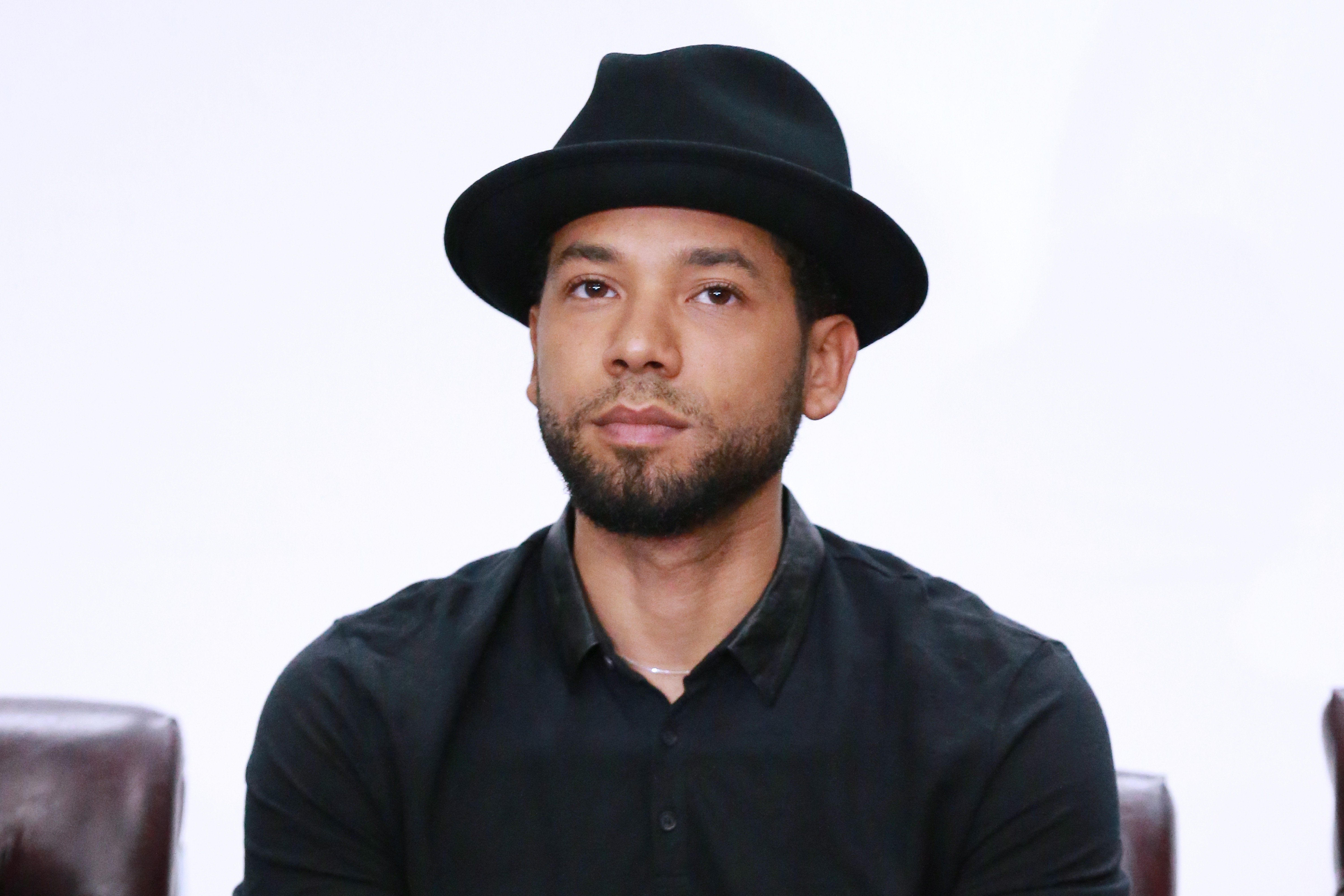"Jussie Smollett attends the Compton High School Student Screening Of Open Road Films' ""Marshall."" 