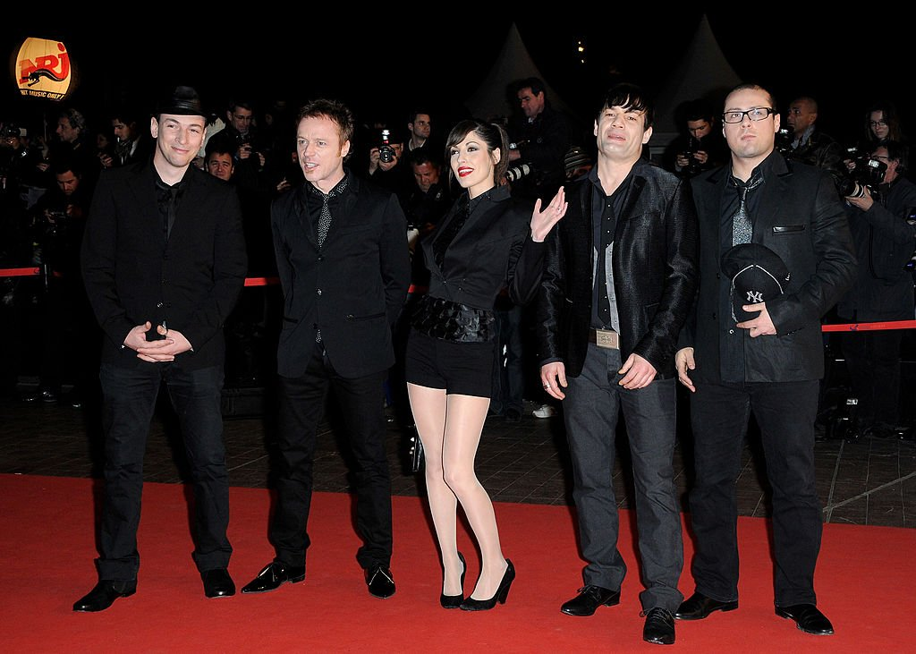 Superbus aux NRJ Music Awards, 2010 | Source : Getty Images
