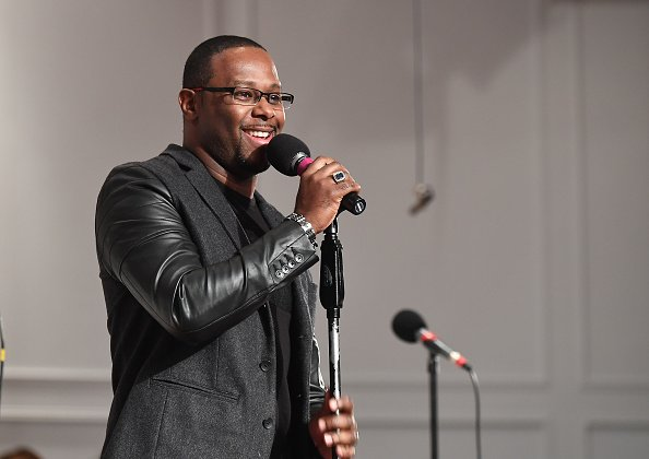 Micah Stampley at Ray of Hope Christian Church on December 21, 2018 | Photo: Getty Images