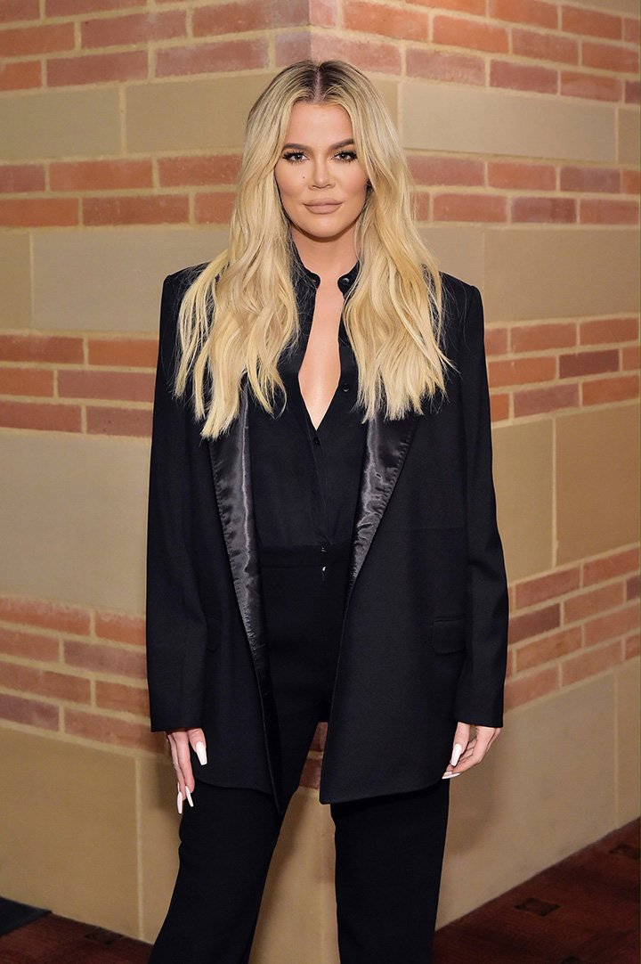 Khloe Kardashian attending The Promise Armenian Institute Event At UCLA Los Angeles, California in November 2019. I Image: Getty Images.