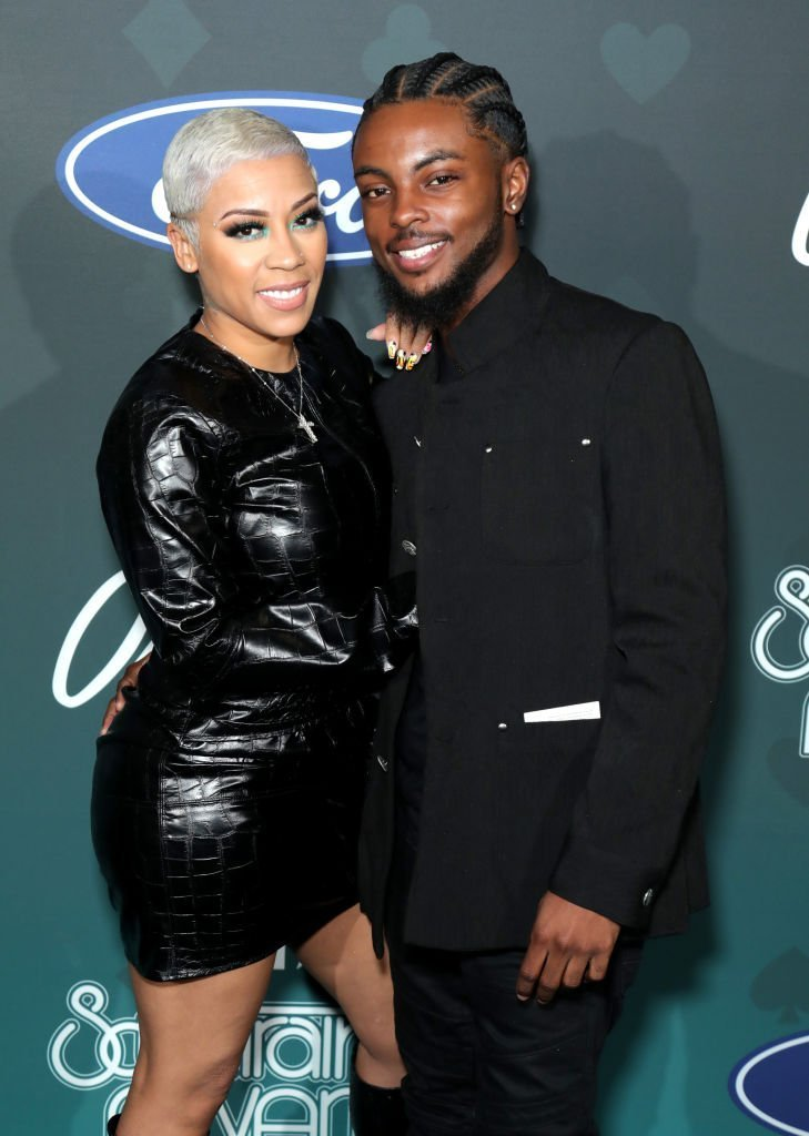 Keyshia Cole and Niko Hale pose backstage at the 2019 Soul Train Awards presented by BET at the Orleans Arena | Photo: Getty Images