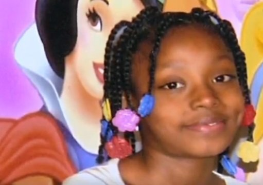 Aiyana Stanley-Jones, 7-year-old who was got shot during police raid.| Photo: YouTube/ CNN.