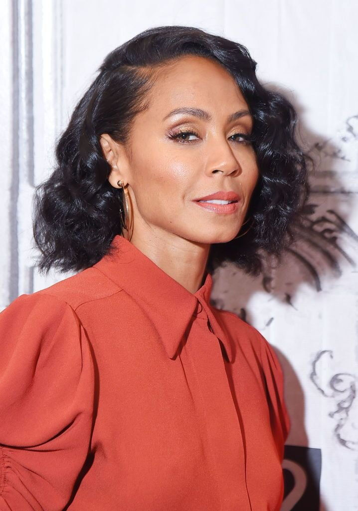 "Actress Jada Pinkett Smith visits the Build Series to discuss the movie ""Girls Trip"" at Build Studio on July 17, 2017 