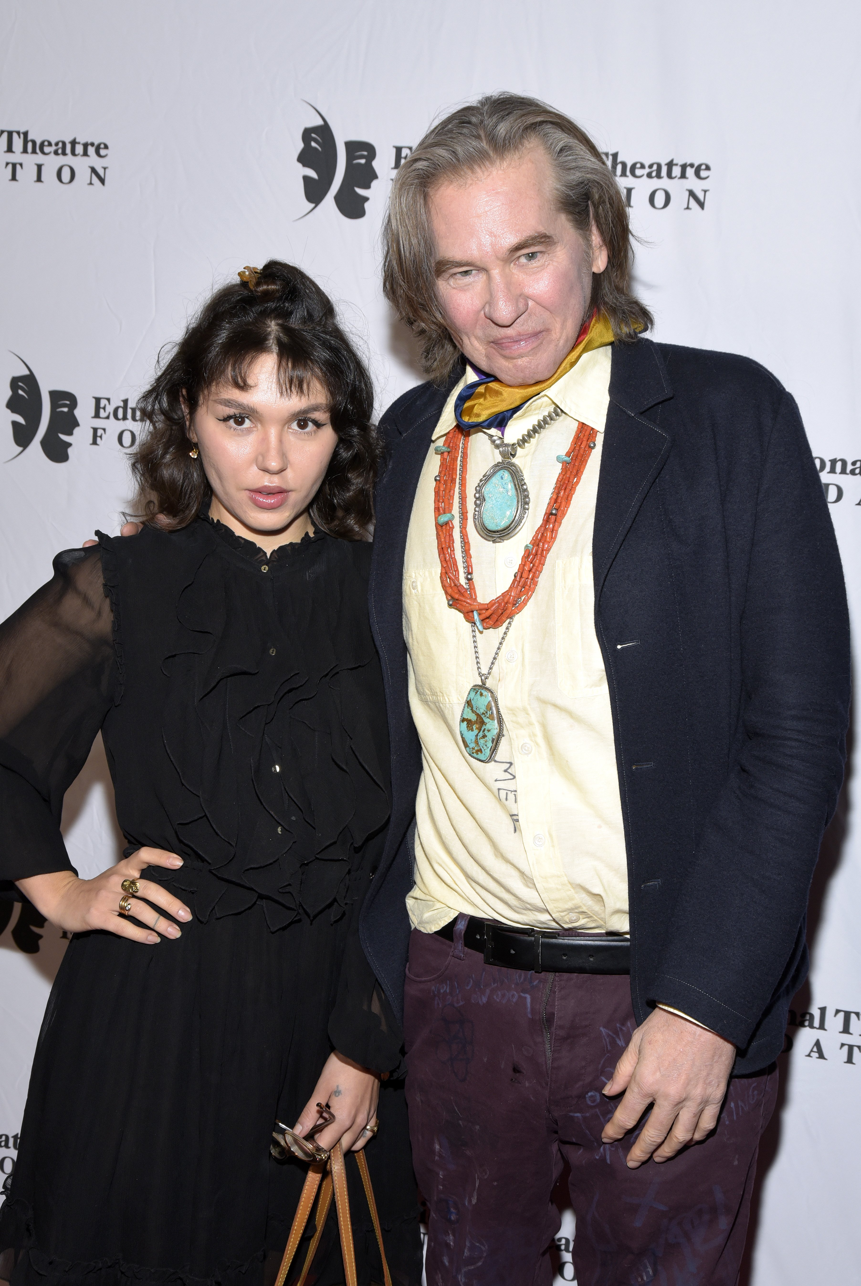 "Val Kilmer and daughter Mercedes Kilmer will star in this year's movie ""Paydirt."" 
