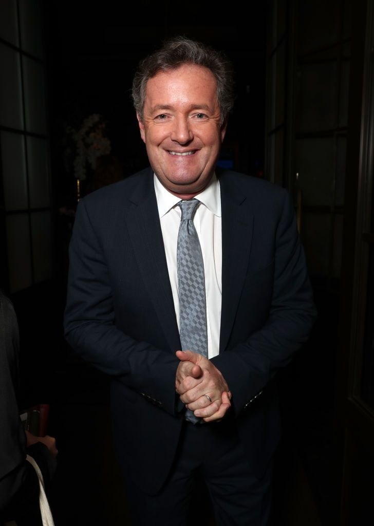 "Piers Morgan at ""The Hollywood Reporter's"" 5th Annual Nominees Night on February 6, 2017 