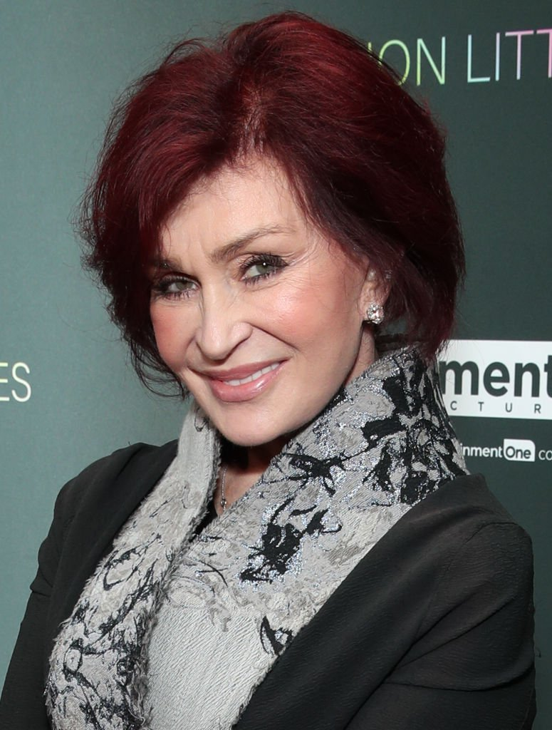 """Sharon Osbourne attends the special screening of Momentum Pictures' """"A Million Little Pieces"""" at The London Hotel 