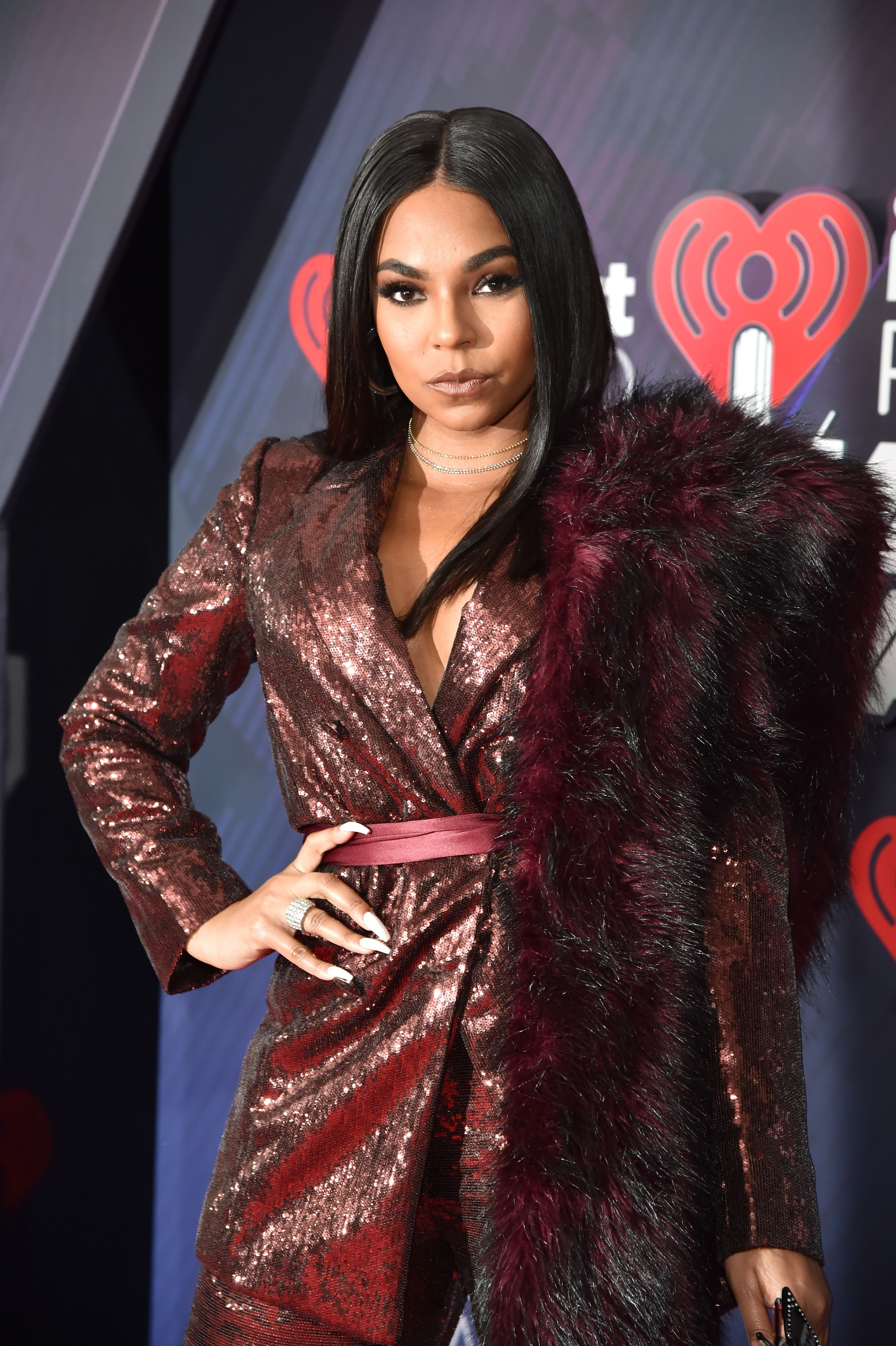 Ashanti at the 2018 iHeartRadio Music Awards in Inglewood, California   Source: Getty Images
