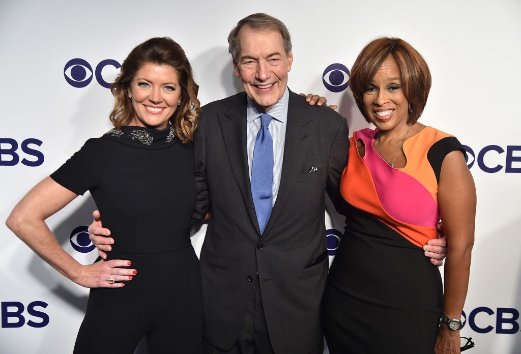 Norah O'Donnell, Charlie Rose and Gayle King attend the 2017 CBS Upfront on May 17, 2017. | Photo: GettyImages