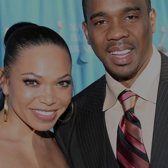 Duane Martin and his ex wife Tisha Campbell | Twitter: @BET