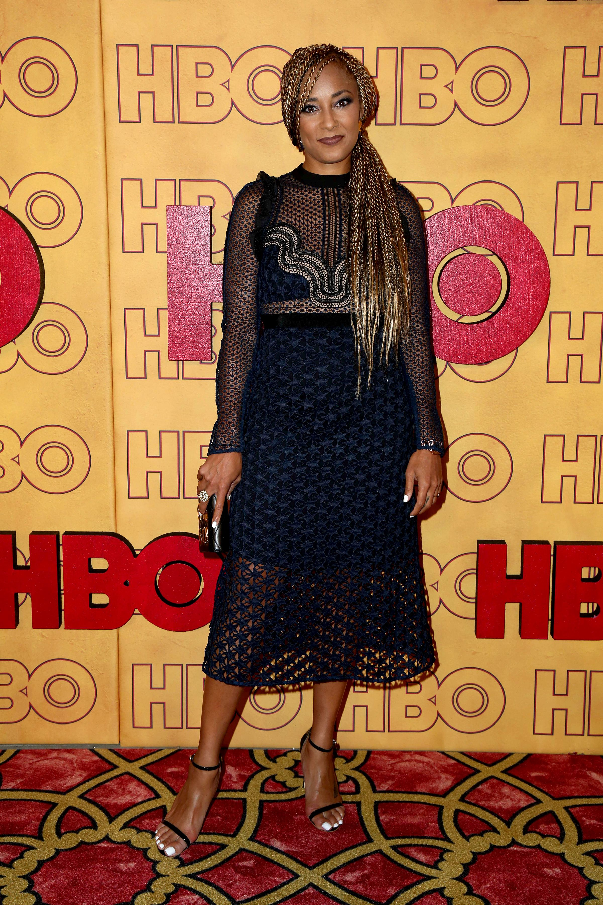 Amanda Seales at the HBO After Party at Pacific Design Center on September 17, 2017 in West Hollywood, CA. | Source: Shutterstock