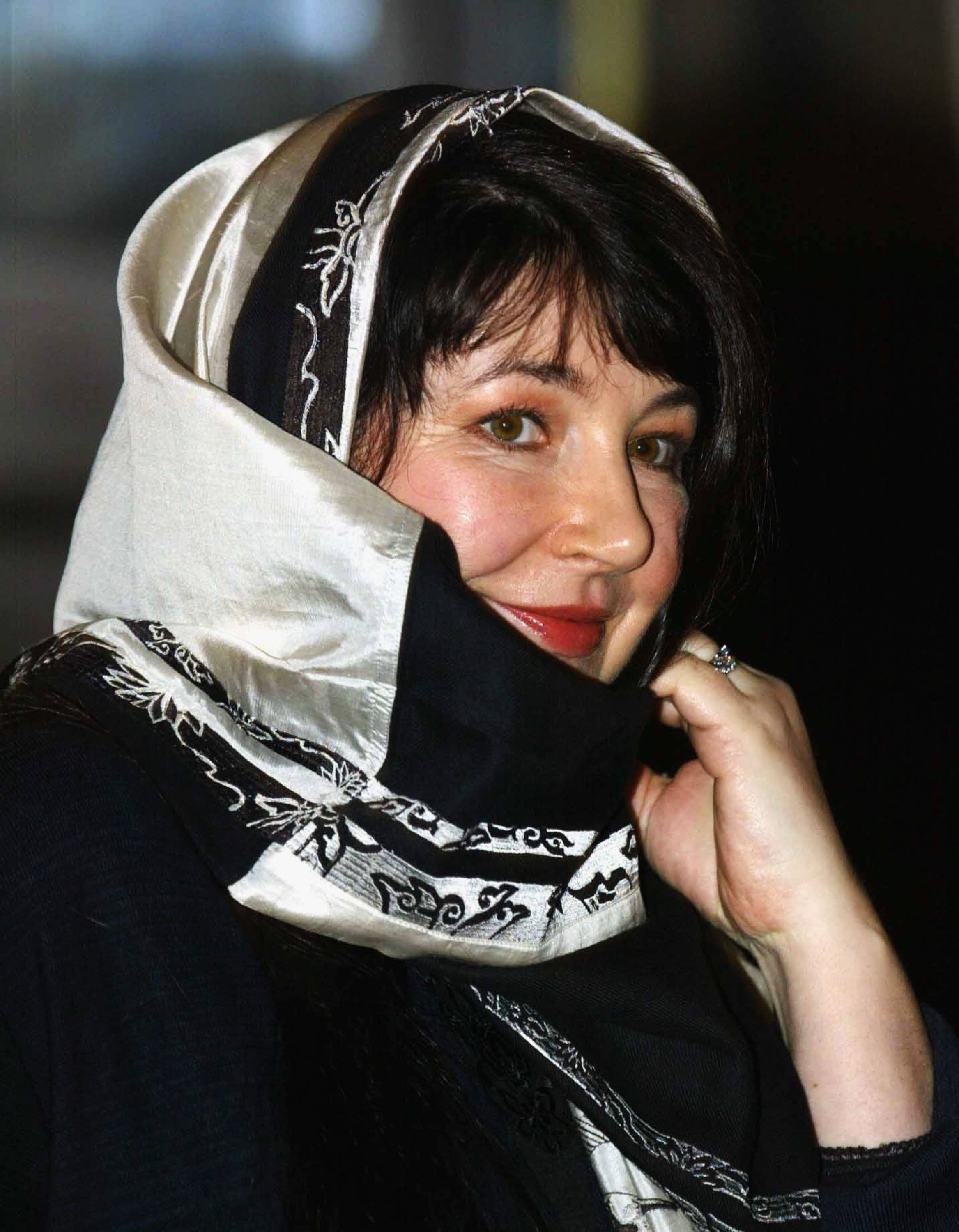 "Kate Bush arriving at the ""Music Day At The Palace"" event at Buckingham Palace on March 1, 2005 