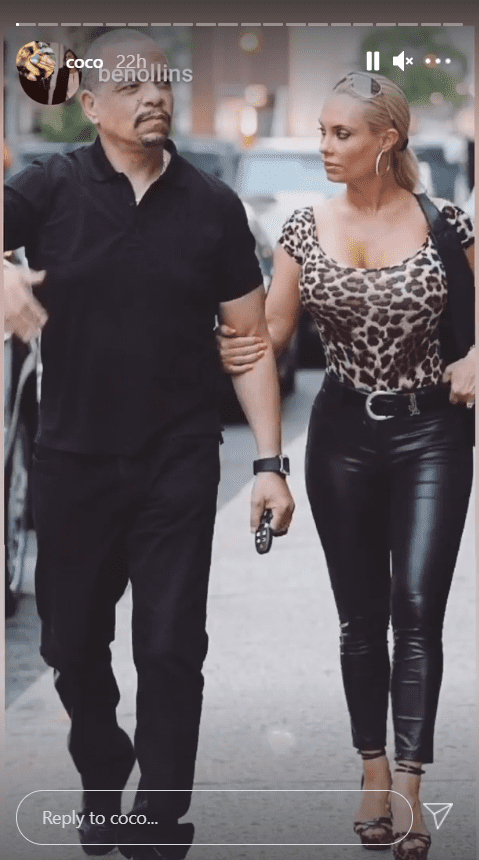 Coco Austin and husband, Ice-T walking side by side on the street | Photo: Instagram/coco