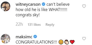 Fan comments left on Jenna Johnson's post | Instagram: @jennajohnson