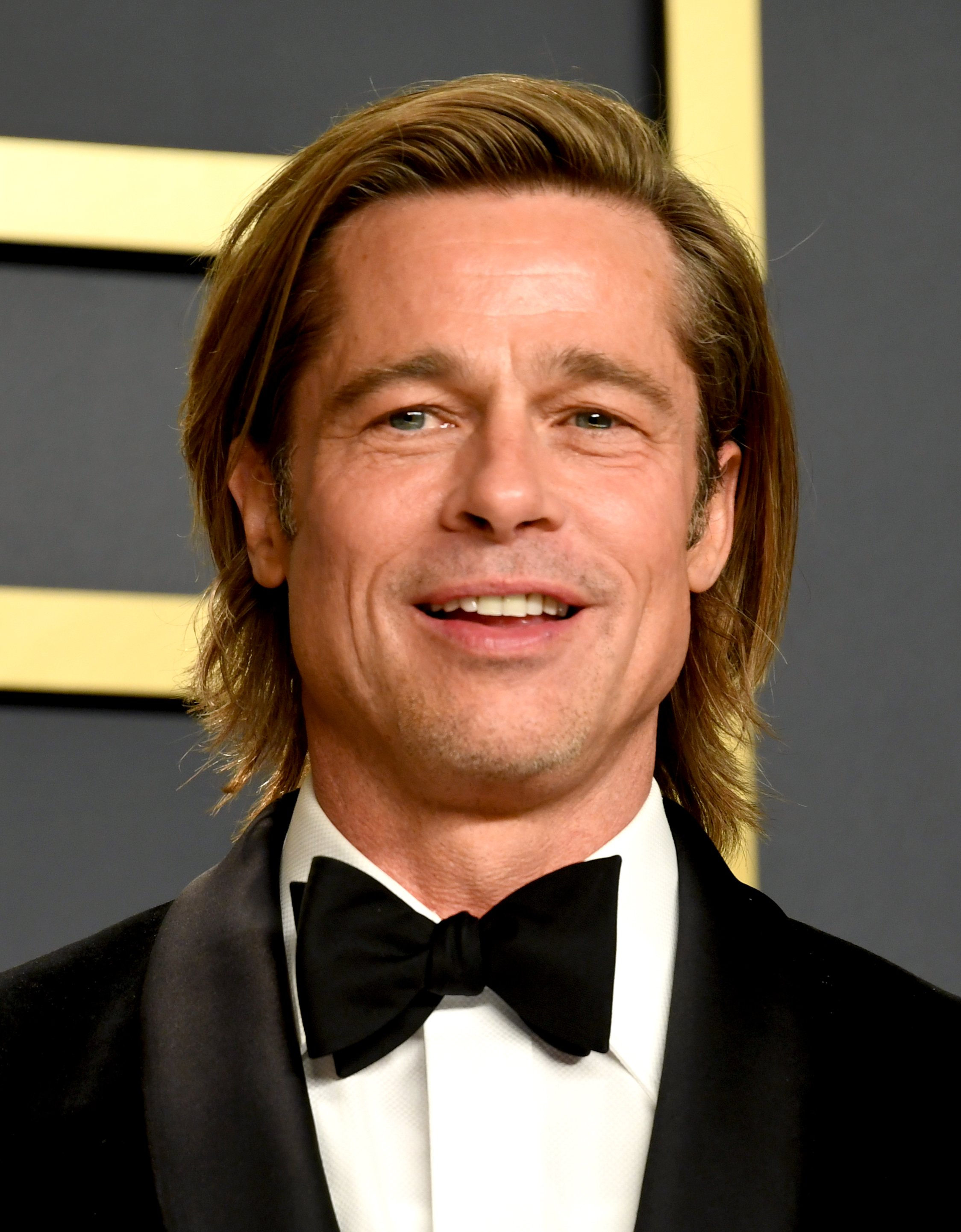 Brad Pitt in the press room at the 92nd Academy Awards held at the Dolby Theatre in Hollywood, Los Angeles, USA   Photo: Getty Images