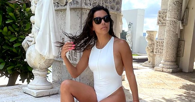 Eva Longoria, Kylie Jenner and More Stars Who Prove One-Piece Swimsuits Are a Real Beauty