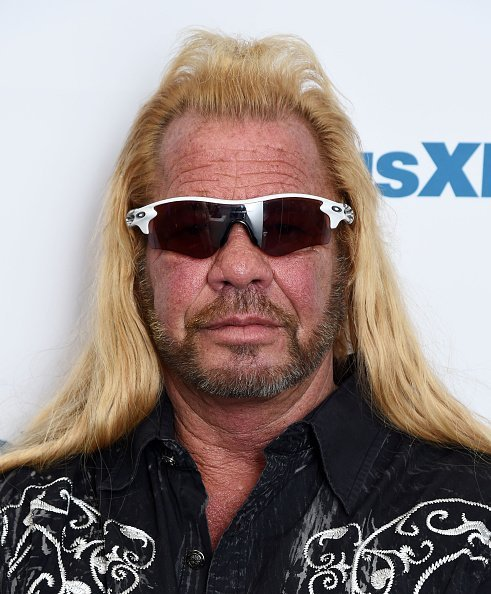 Dog the Bounty Hunter, Duane Chapman visiting the SiriusXM Studios in New York City.| Photo: Getty Images.