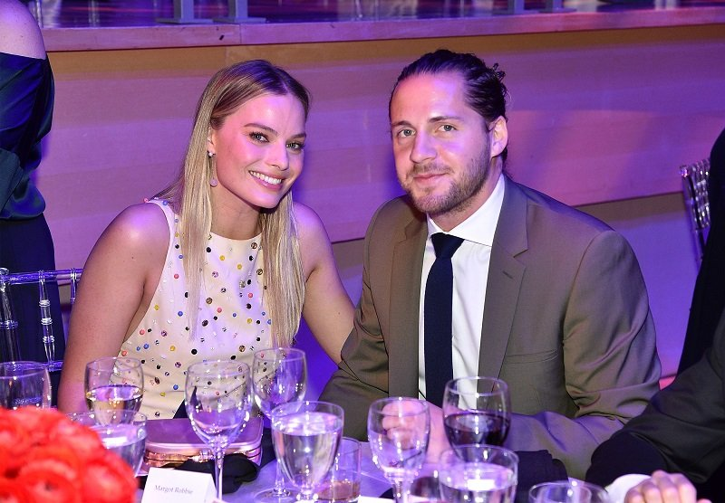 Margot Robbie and Tom Ackerley at Lincoln Center on April 25, 2017 in New York City   Photo: Getty Images