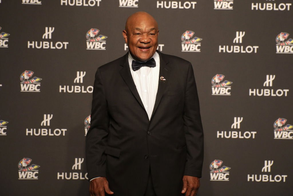 """George Foreman at the Hublot x WBC """"Night of Champions"""" Gala, May 2019 