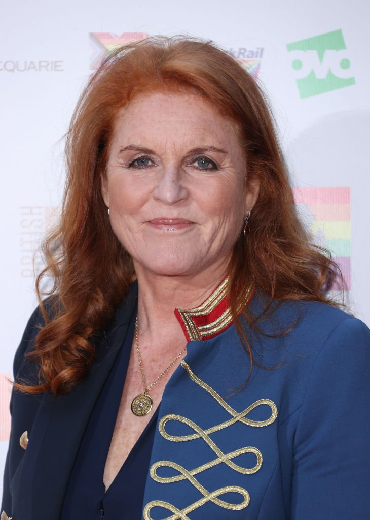 Sarah, Duchess of York attends the British LGBT Awards 2021 at The Brewery on August 27, 2021 in London   Photo: Getty Images