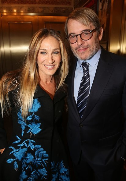 Sarah Jessica Parker and Matthew Broderick at The Barrymore Theatre on November 17, 2019 in New York City. | Photo: Getty Images