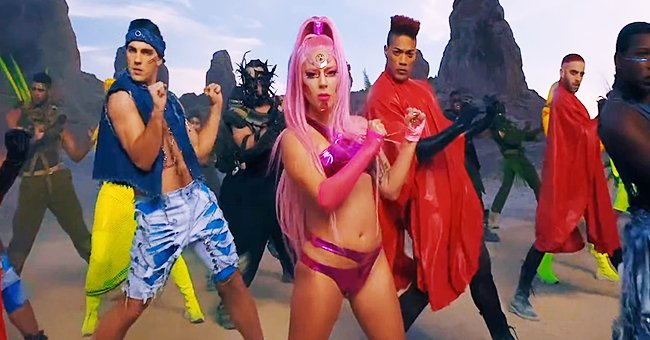 """Lady Gaga Releases New Single """"Stupid Love"""" and Channels an Alien Leader with Pink Hair and Bright Makeup in Accompanying Video"""