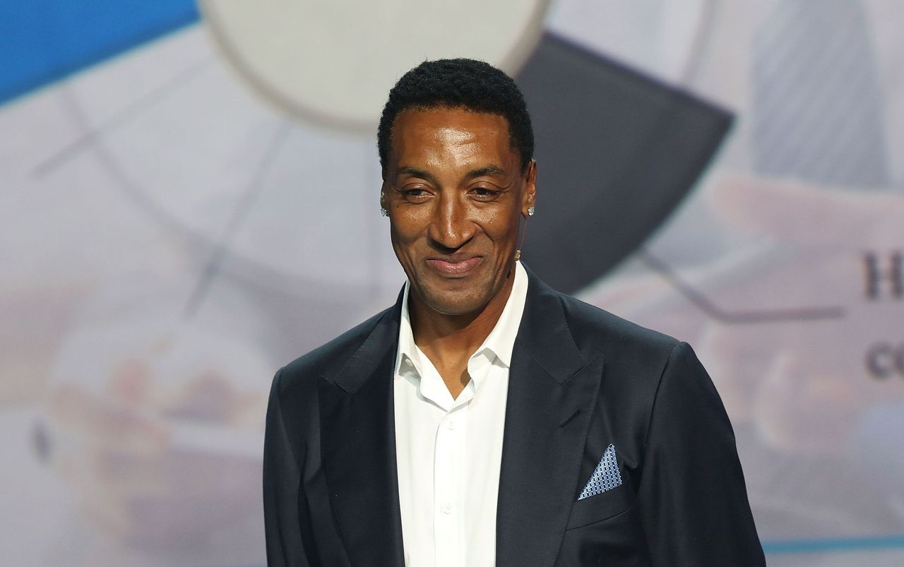 Scottie Pippen Attends Market America Conference 2016 at American Airlines Arena on February 4, 2016 in Miami, Florida.   Source: Getty Images