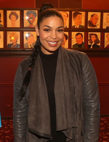 Jordin Sparks posing at a press photo call in New York City.| Photo: Getty Images.