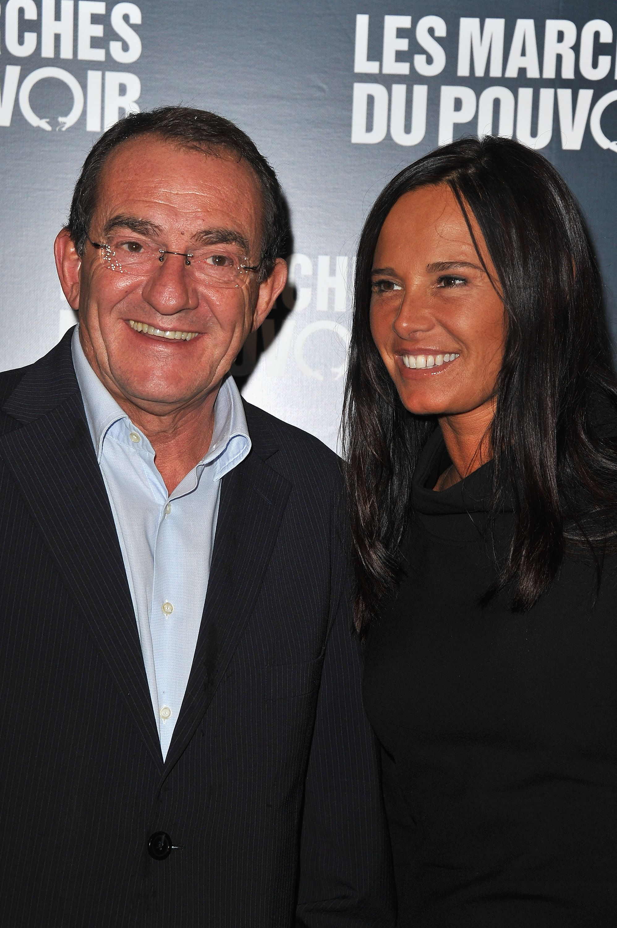 Jean-Pierre Pernaut et sa femme Nathalie Marquay | Photo : Getty Images