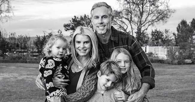 Jessica Simpson Posts Sweet Pic of Her Husband & Their Three Children — See the Singer's Family