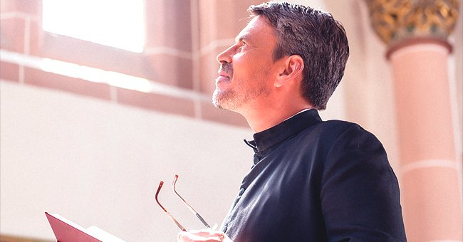Daily Joke: A Young Father Is Approached by the Priest before His Baby Son's Baptism