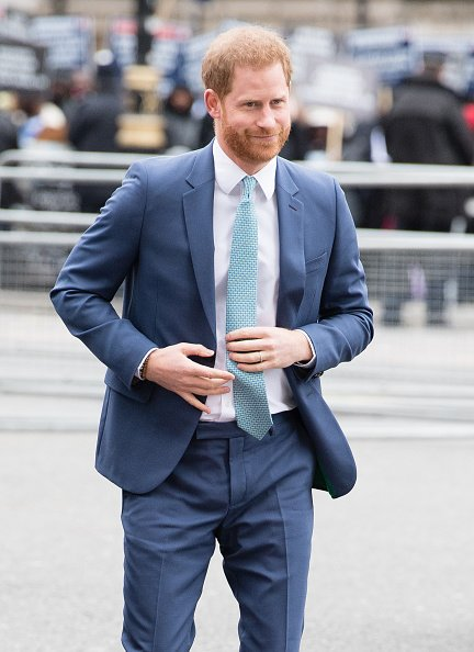 Prince Harry on March 09, 2020 in London, England. | Photo: Getty Images