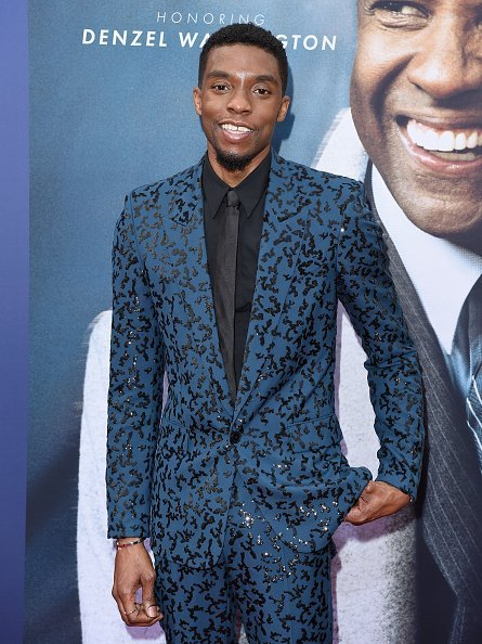 Chadwick Boseman at the American Film Institute's 47th Life Achievement Award Gala on June 06, 2019 | Photo: Getty Images