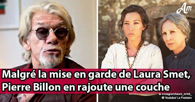 Pierre Billon révèle que c'est la mère de Laura Smet qui l'a séparé de Johnny