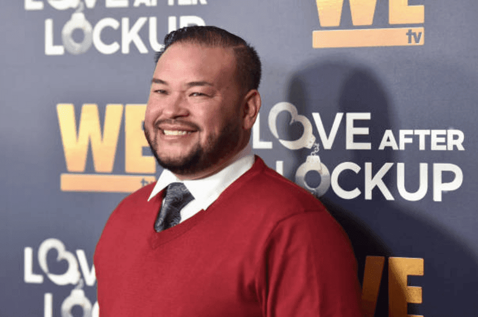 "Jon Gosselin poses on the red carpet for the ""Love After Lockup"" with panel, ""Real Love: Relationship Reality TV's Past, Present & Future,"" on December 11, 2018, in Beverly Hills, California 